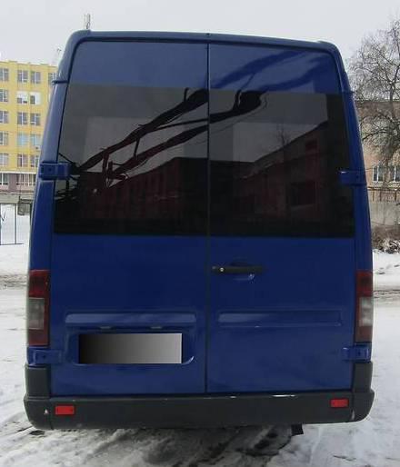 Заднее стекло (распашонка) правая без електрообогрева на Mercedes-Benz Sprinter (1995-2006), Volkswagen LT