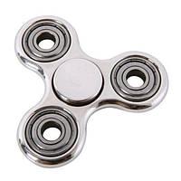 Спиннер хромированный серебряный (серебристый) Антистресс Hand Spinner