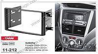 Рамка переходная Carav 11-212 Subaru impreza/Forester (08-)