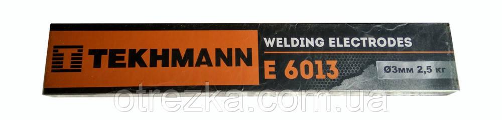 """Электроды """"Tekhmann"""" E 6013 диаметр 3 мм. масса 2,5 кг"""