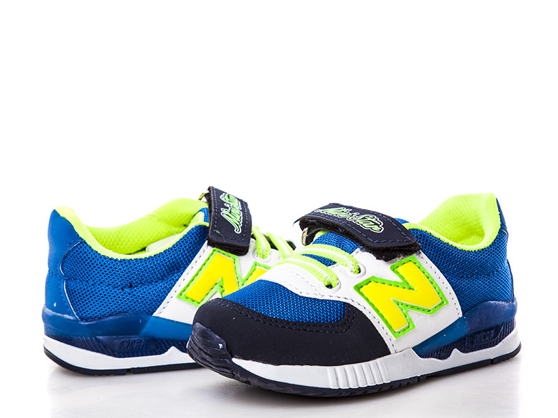 Обувь для мальчиков, детские кроссовки с подсветкой синие Waldem (Турция)