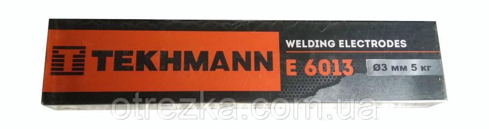 """Электроды """"Tekhmann"""" E 6013 диаметр 3 мм. масса 5 кг"""
