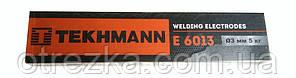 """Электроды """"Tekhmann"""" E 6013 диаметр 4 мм. масса 5 кг"""