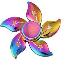 Спиннер в форме цветка металл градиент Антистресс Hand Spinner