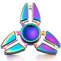 Спиннер треугольник металл градиент Антистресс Hand Spinner