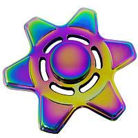 Спиннер звезда металл градиент Антистресс Hand Spinner