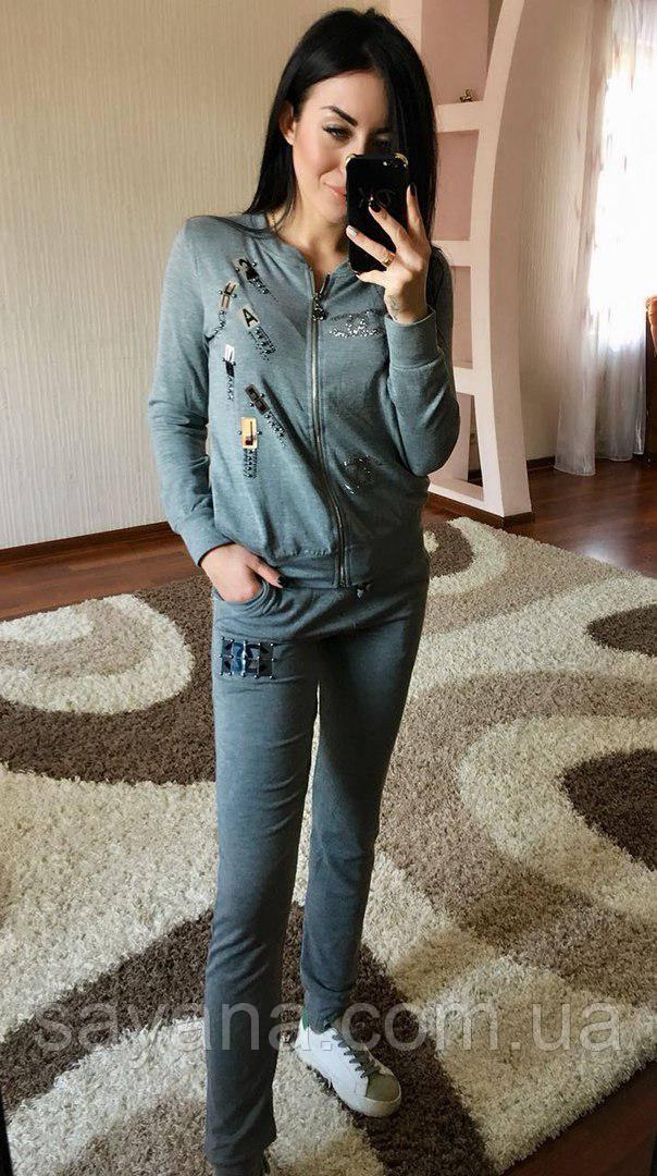 d0711dd5f13 Купить Женский спортивный костюм- бренд в расцветках Турция. Н-8 ...
