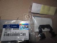 Прижимная пластина тормозных колодок (производство Hyundai-KIA ), код запчасти: 581443X000