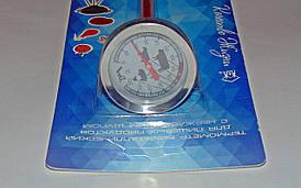 Термометр для пищи биметаллический 0-120