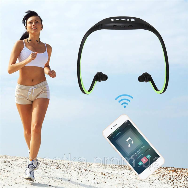 Спортивна Bluetooth-гарнітура BS-19, навушники бездротові Bluetooth Headphones BS19 Sport