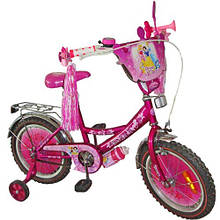 """Детский двухколесный велосипед Дисней """"Принцесса"""" (диаметр колес 12)"""