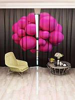 Фотоштора Рожеві бульбашки (20855_1_1)