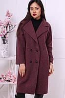 Женское популярное прямое шерстяное пальто (2 цвета)