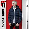 11 Kiro Tokao | Япония. Куртка демисезонная 4541 темно-синяя