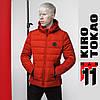 11 Kiro Tokao | Мужская весенняя куртка 4726 оранжевая