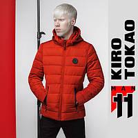 11 Kiro Tokao | Мужская весенняя куртка 4726 оранжевая, фото 1