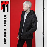 11 Kiro Tokao | Японская куртка весна-осень 4541 черная, фото 1