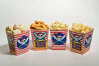 """Коробочка """"Пираты"""" для сладостей и попкорна, 5 шт/уп."""