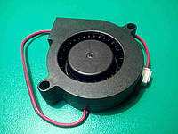 Вентилятор 50 мм 12 В 2pin улитка центробежный турбина кулер  для 3D-принтера, фото 1