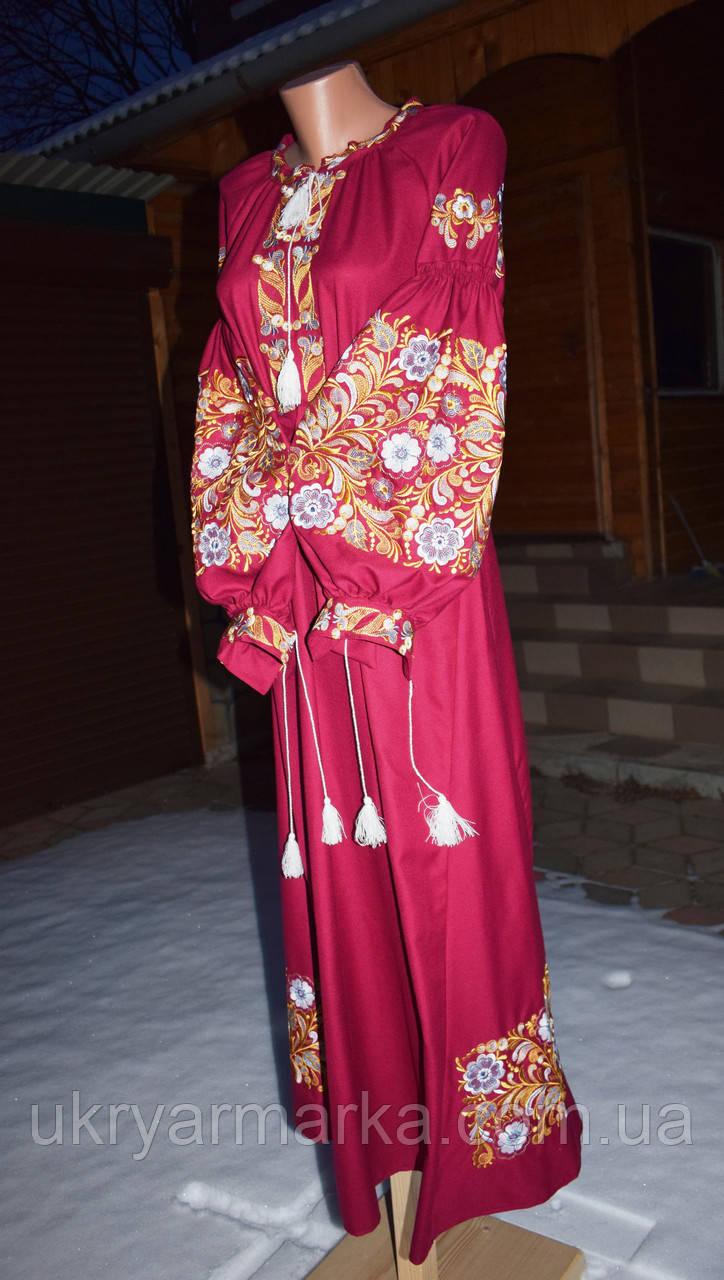 a284fbea9313dd Вишите плаття в стилі бохо