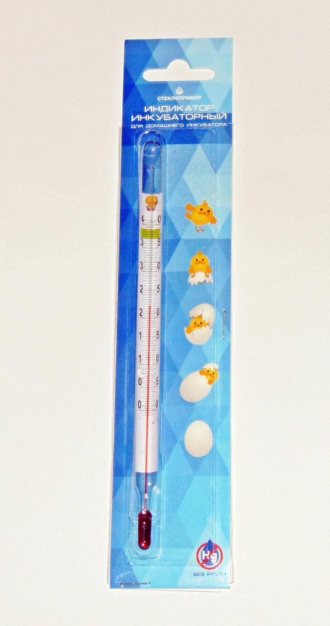 Термометр индикатор инкубаторный 0-42