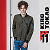 11 Kiro Tokao | Японский весенне-осенний бомбер 808 хаки