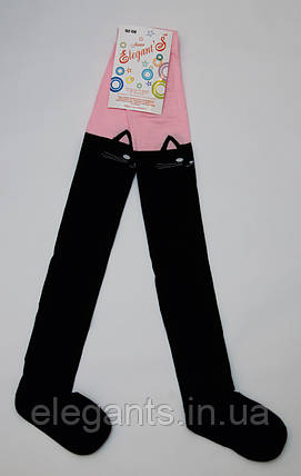 Колготки для девочек 116-122 см. / 6-7 лет/90% хлопок, фото 2