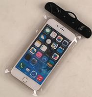 """НАДЕЖНЫЙ Универсальный водонепроницаемый чехол для смартфона, телефона или iphone, 4.0""""-5.5"""" прозрачный"""