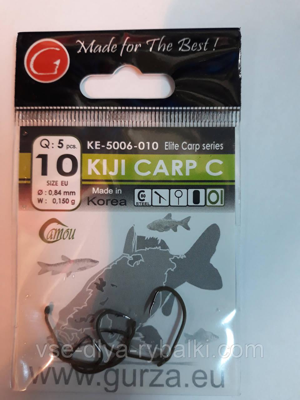 Крючки Gurza kiji carp c № 10