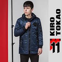 11 Kiro Tokao   Япония. Парка мужская демисезонная 66207 темно-синяя, фото 1