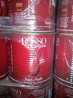 Томаты очищенные в собственном соку ж/б 2.5кг Италия