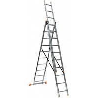 Лестница КРОК 3-х секц. розкл.  3х10
