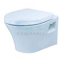 3020129 Devit Gredos Унітаз підвісний + сидіння SoftClose  56х38, білий