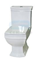 3010127 Devit Retro Унітаз підлоговий + сидіння  SoftClose 66.5х41, білий
