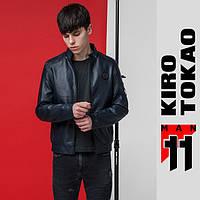 11 Kiro Tokao | Мужская Весенне-осенняя  куртка 3332 темно-синяя, фото 1