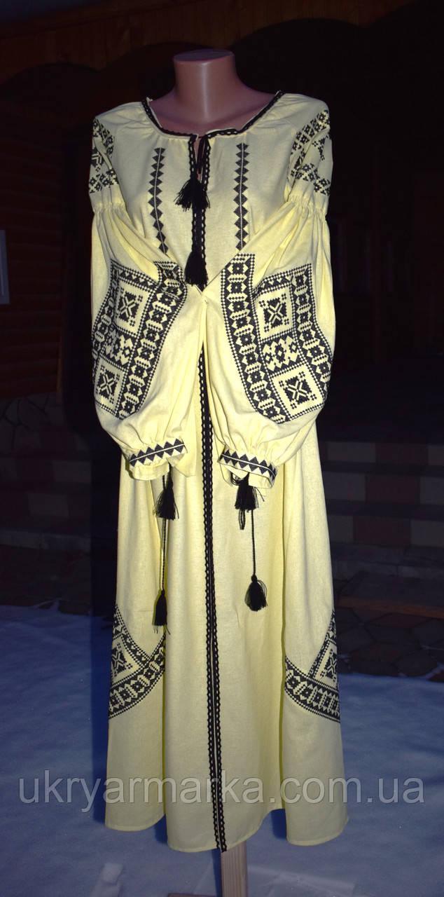 730ca392b68a05 Вишита сукня стиль бохо,