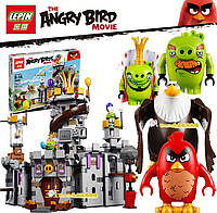 Конструктор Lepin Angry Birds Movie Замок Короля свинок 19006 917 дет