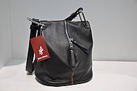 Модная кожаная женская сумка 0165-885