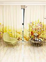 Фотоштора Візок з квітами (9350_1_1)