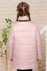 Детская демисезонная куртка Мэри, беж, р.122-152, фото 3