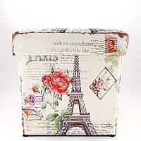 Пуфик Париж большой банкетка с ящиком, фото 1