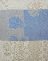 Кухонное жаккардовое полотенце Белорусский лен Бостон цв.12, р.11 50х70 см