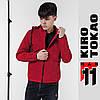11 Kiro Tokao | Мужская весенне-осенняя ветровка 3353 красная