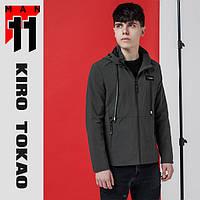 11 Kiro Tokao | Японская весенне-осенняя ветровка 3412 темно-серая, фото 1