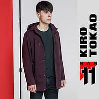 11 Kiro Tokao | Японская весенне-осенняя ветровка 2053 бордовая, фото 1