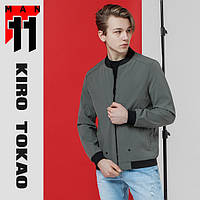 11 Kiro Tokao   Японская ветровка весна-осень 3354 серая, фото 1