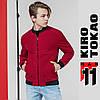 11 Kiro Tokao | Японская ветровка мужская весенне-осенняя 3354 красная