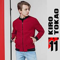 11 Kiro Tokao | Японская ветровка мужская весенне-осенняя 3354 красная, фото 1