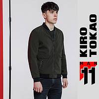 11 Kiro Tokao | Весенне-осенняя ветровка мужская 3725 темно-зеленая, фото 1