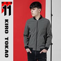 11 Kiro Tokao | Ветровка мужская весенне-осенняя 3520 серая, фото 1